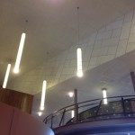 Lobby Tectum Ceiling