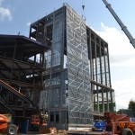 Theatre Exterior Framing 1